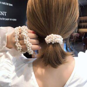 Haarband künstliche Perlen Haargummi