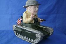More details for bairstow manor collectables winston churchill sitting in a tank figure brand new