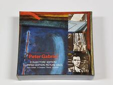 Peter Gabriel - Compact Collection Rare 3 CD PICTURE DISC Import Box Set