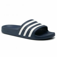 adidas Adilette Aqua Scarpe da Spiaggia Uomo, EU 43 - Blu Navy