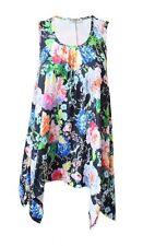 Size Regular Polyester Casual Sleeveless Tops & Blouses for Women