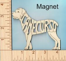 Cane Corso dog laser cut and engraved wood Magnet Great Gift Idea