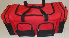"35"" RED TRAVEL, GYM, LUGGAGE BAG"