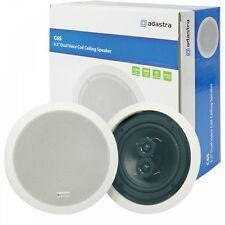 """Adastra 100w 16.5cm 6.5"""" Dual Voice Coil Ceiling Speaker With Dual Tweeters BNIB"""