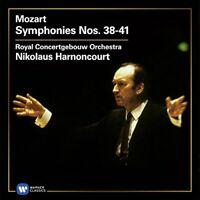 Royal Concertgebouw Orchestra / Nikolaus Harnoncourt - Mozart: Symphonies 38-41