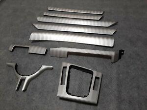 BMW 3 Series E46 Sedan Touring Brushed Shadow Aluminium Interior Trim LHD