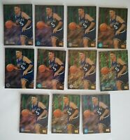1994 Skybox Emotion - Jason Kidd - Rookie - Xcited Insert - Lot of 11