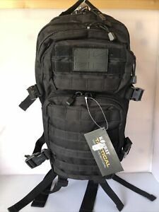 Assault Tactical Molle Backpack - Black