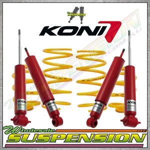 KONI FR & RE SHOCK ABSORBERS & STD HEIGHT KINGS HOLDEN TORANA LH-UC 6-8 Cylinder