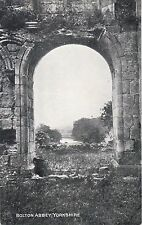 View Through Archway, BOLTON ABBEY, Wharfedale, Yorkshire