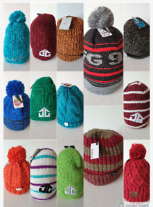 Bonnet unisexe streetwear et montagne neuf NIXON, ELEMENT, LANDING, NEFF ...