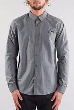 New Rusty Men's Sonar Long Sleeve Shirt Coal Size XXL