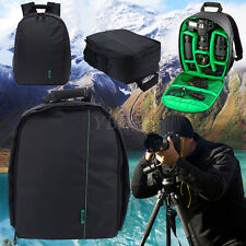Black Waterproof Backpack Bag For Nikon Canon Sony DSLR Camera Lens Accessories