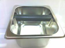 "Espresso Knock Box stainless steel 4"" deep UPDA-KB-164 ( New )"