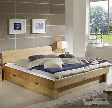 Moderne Aktuelles-Design Bettgestelle ohne Matratze aus Eiche mit Zum Zusammenbauen