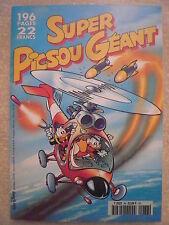 Super Picsou Géant 196 pages  n° 86 août 1998