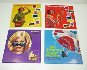 ROLLING STONES 4x KLINGENDE POST Telefunken Info-Platten - ROCK / BEAT 60s-70s