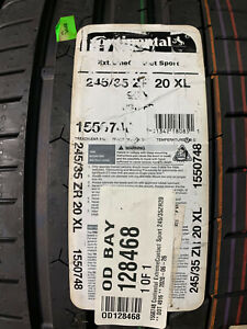 1 New 245 35 20 Continental Extreme Contact Sport Tire