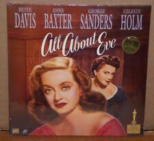 All About Eve Laserdisc NEW SEALED Bette Davis Marilyn Monroe Ann Baxter