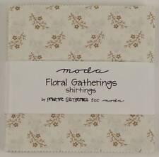 Moda Charm Pack   ~ Floral Gatherings - Shirtings ~ Primitive Gatherings #1101PP
