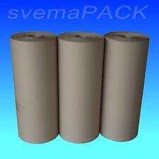 3 x 10 Kg Rollen Packpapier Schrenzpapier 50 cm breit x 200 lfm 100 g/m² NEU OVP