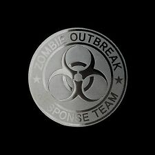 Zombie Outbreak Response Team Metal Deca Sticker Case Computer PC Laptop (Sv)