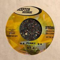 Funk Breaks 45 ST-4 Funky Black Skin Blue Eyed PROMO Scepter Records Deep ST4 EX