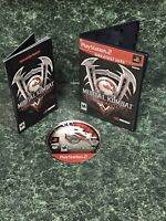 MORTAL KOMBAT~DEADLY ALLIANCE:SONY PS2/PLAYSTATION 2 CIB (2002) NM CONDITION