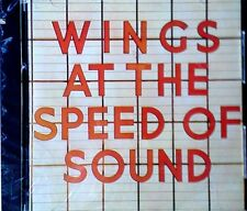 PAUL McCARTNEY / WINGS - WINGS AT THE SPEED OF SOUND - CAPITOL - SEALED CD