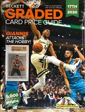 New Beckett Graded Card Price Guide 17th Edition 2020 GIANNIS ANTETOKOUNMPO