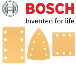 BOSCH GSS 160-1A Sandpaper / Sanding Sheets SHOP (The Complete Range of GRITS)