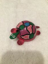 Loose Neck Bobble Head Hand Painted Turtle