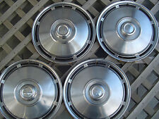IH  INTERNATIONAL PICKUP TRUCK SCOUT HUBCAPS CENTER CAPS WHEEL COVERS ANTIQUE