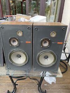 Pair of Sony speakers speaker system ss-2030 vintage monitors 3 way 30 watts