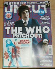 Uncut magazine Apr 2021 The Who Psych out! New York Dolls Peggy Seeger Gaye + CD