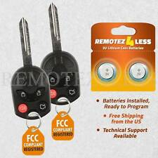 2 For 2006 2007 2008 2009 2010 Ford Taurus Keyless Entry Remote Car Key Fob