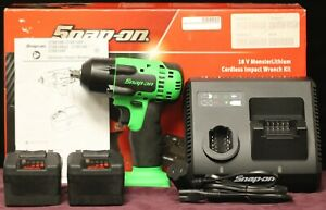 "Snap-on (CT8810BGMK2) 18V MonsterLithium Cordless 3/8"" Impact Wrench Set"