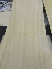"Eucalyptus Figured wood veneer 13"" x 36"" with paper backer 1/40th"" thickness AA"