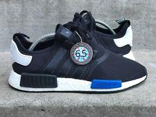 2015 Adidas NMD R1 Tokyo BLACK BLUE WHITE sz 10 Sneaker Savant Grade 6.5/10 PK
