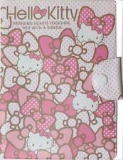 Hello Kitty Ribbon Registration Insurance Card Passport Holder Case Sanrio Japan