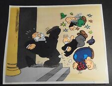 Barney Google and Snuffy Smith Hand Painted Ltd Ed Animation Cel  41/125 DeBeck.