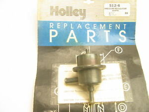 Replacement  Holley 512-6 Fuel Pressure Regulator For 1984 Chrysler 2.2L TURBO