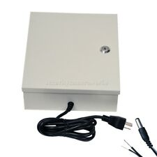 8 Channel 9 Port CCTV Power Supply Box w/ Pigtail for CCD Security Camera bpw