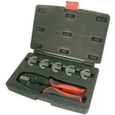 7 PIece Professional Quick Change Ratcheting Crimping Tool Set AST9477 New!
