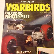Air Progress Warbirds Magazine Duxford Fighter Meet Nov/Dec 1991 071617nonrh