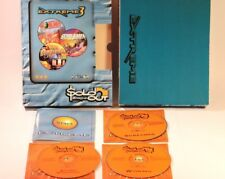 PC GAME'S 3 PACK PC-CD-ROM WORMS /ATOMIC BOMBERMAN/SCREAMER BY SOLD OUT SOFTWARE