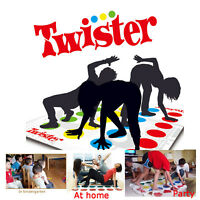 Funny Twister Die Klassische Familie Kinder Party Body Game mit 2 weiteren Moves
