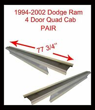 1994-02 DODGE RAM P/U 4DR QUAD CAB OUTER ROCKER PANELS PAIR
