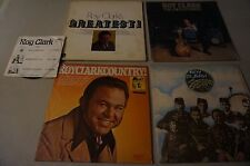 Lot of 5 Roy Clark 7 in Promo 'Rare', Sanctuary Band, Entertainer, Greatest + 1