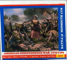 BUM Models 1/72 THE BATTLE OF MONMOUTH & MOLLY PITCHER 1778 Figure Set